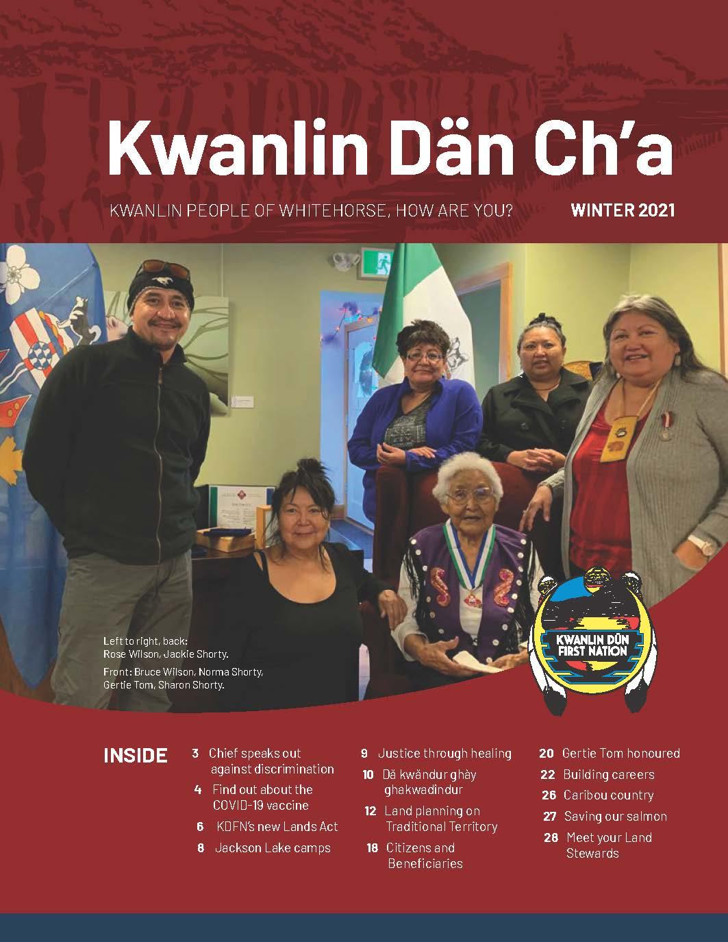 Winter 2021 – Kwanlin Dän Ch'a Newsletter